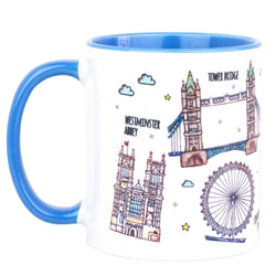 To Home From London Mug - Landmarks 1