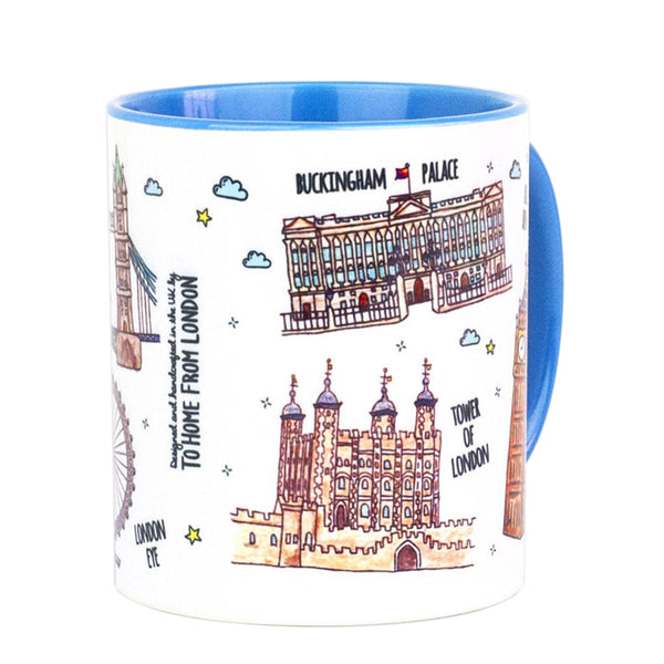 To Home From London Mug - Landmarks 2