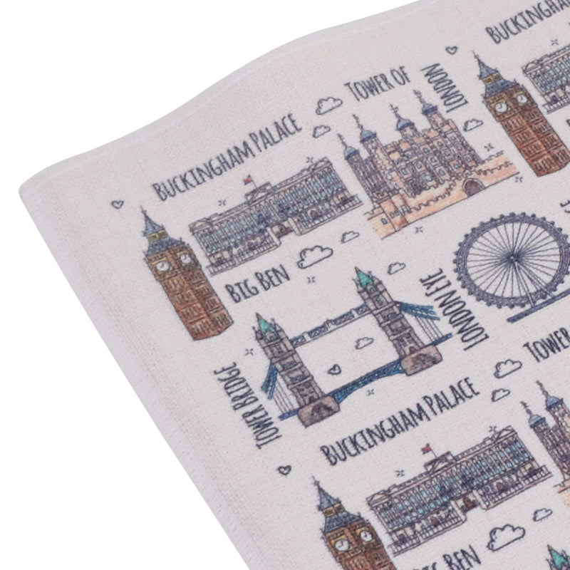 To Home From London Placemat - London Landmarks 2