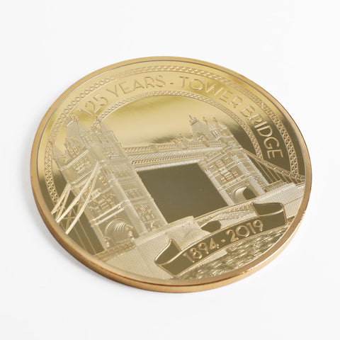 Tower Bridge 125th Year Anniversary 24 Carat Gold Coin 2