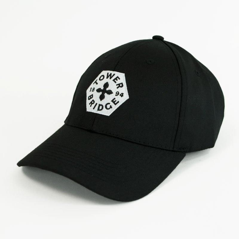 Tower Bridge Black Baseball Cap 1