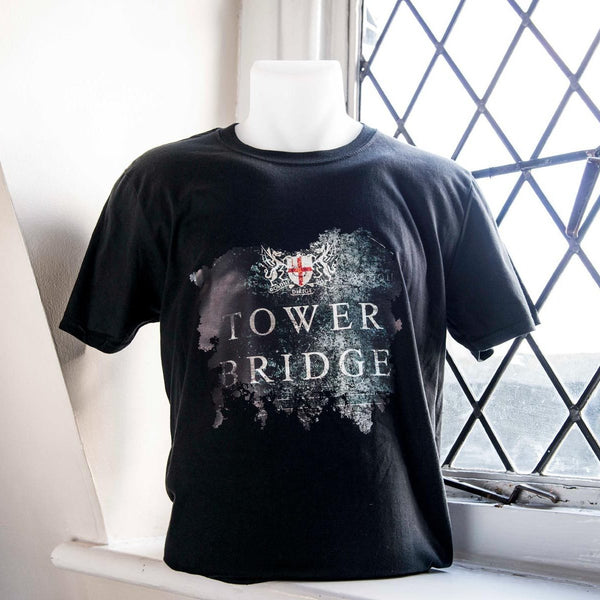 Tower Bridge Distressed Sign T-Shirt - Adult 01