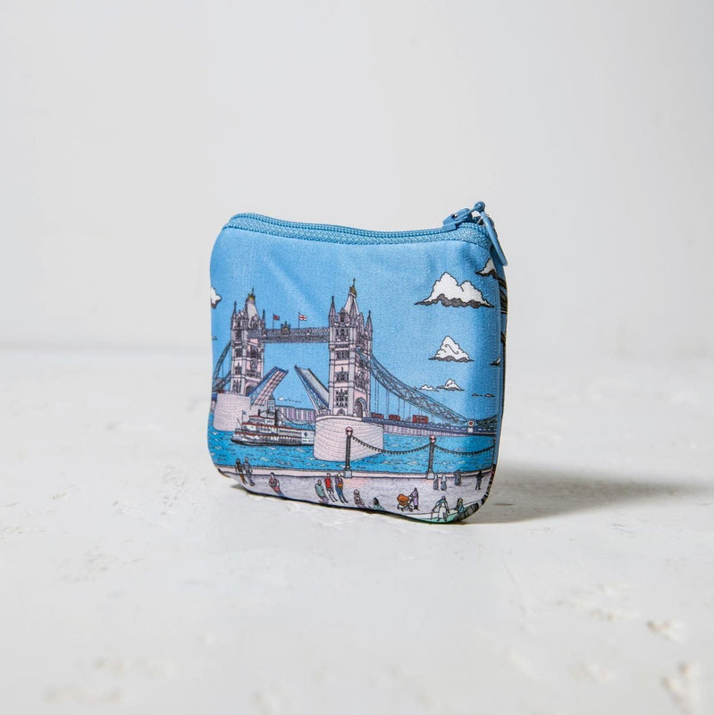 Tower Bridge Illustration Coin Purse 1