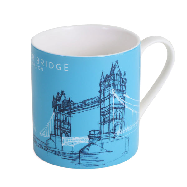 Tower Bridge Line Mug 1