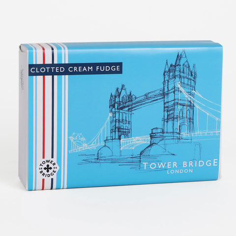 Tower Bridge Line Clotted Cream Fudge 1