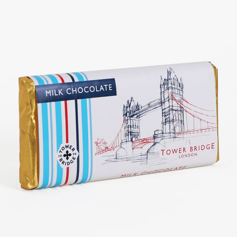 Tower Bridge Line Milk Chocolate Bar 1