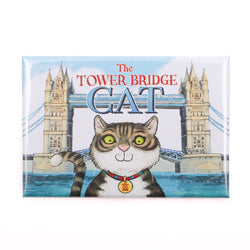 Tower Bridge Cat Magnet 1