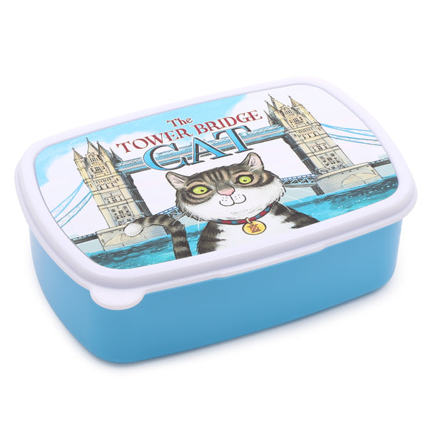 Tower Bridge Cat Lunchbox 1