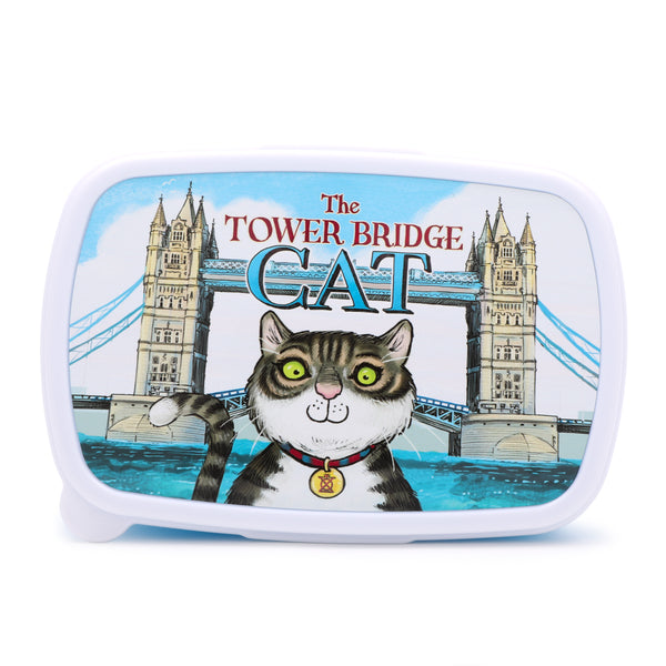 Tower Bridge Cat Lunchbox 2