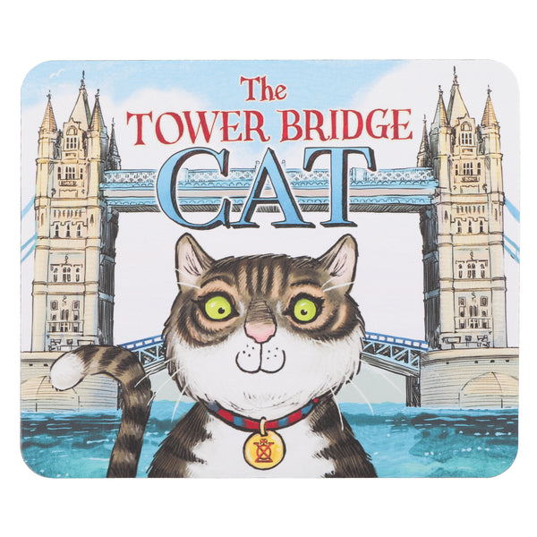 Tower Bridge Cat Mousemat 1