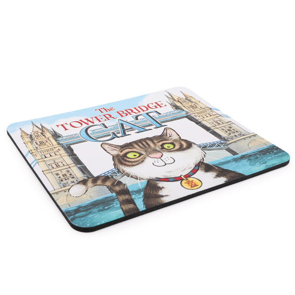 Tower Bridge Cat Mousemat 2