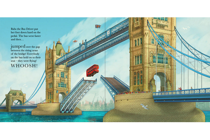 The Tower Bridge Cat Book Interior 01
