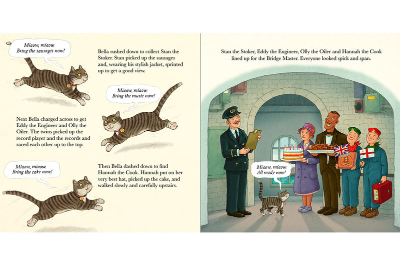 The Tower Bridge Cat Book Interior 02