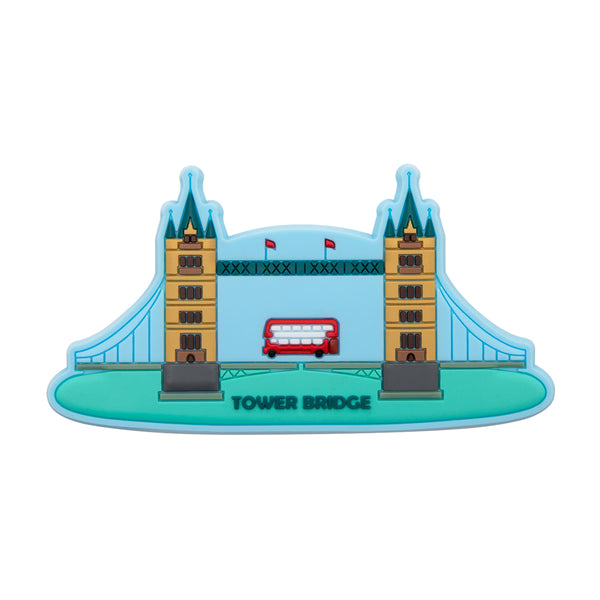 Tower Bridge Rubber Magnet 1