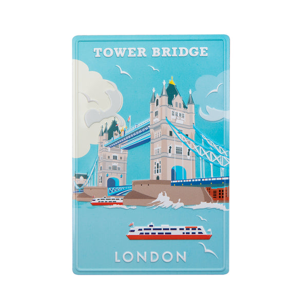 Tower Bridge Vintage Design Metal Magnet 1