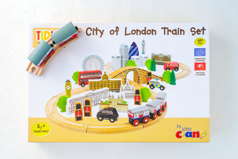Tidlo City of London Wooden Train Set 2
