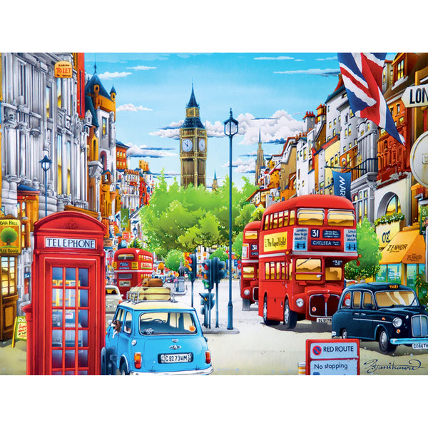 Travel Diary London Puzzle - 550 Pieces 2