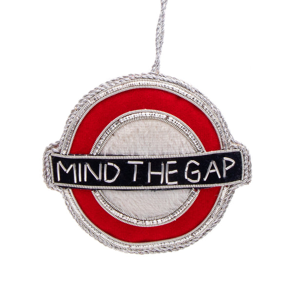 Underground Christmas Decoration - Mind The Gap 1