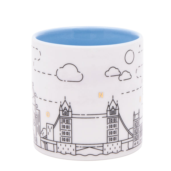 Upon The Moon London Mug - Blue 3