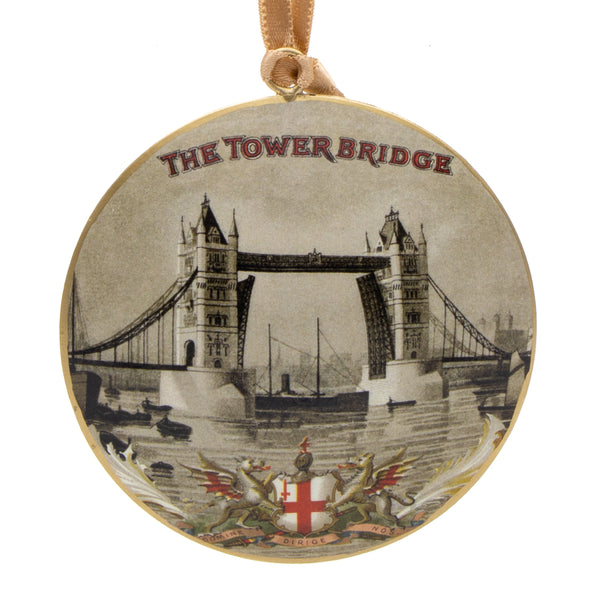 Vintage Tower Bridge Metal Decoration 1