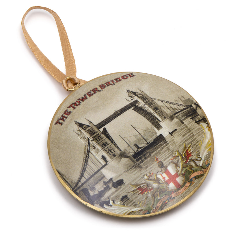 Vintage Tower Bridge Metal Decoration 2