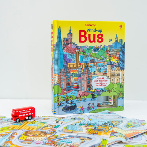 Wind-Up Bus Book 1