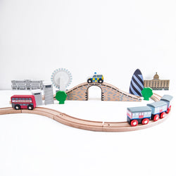 Tidlo City of London Wooden Train Set 1