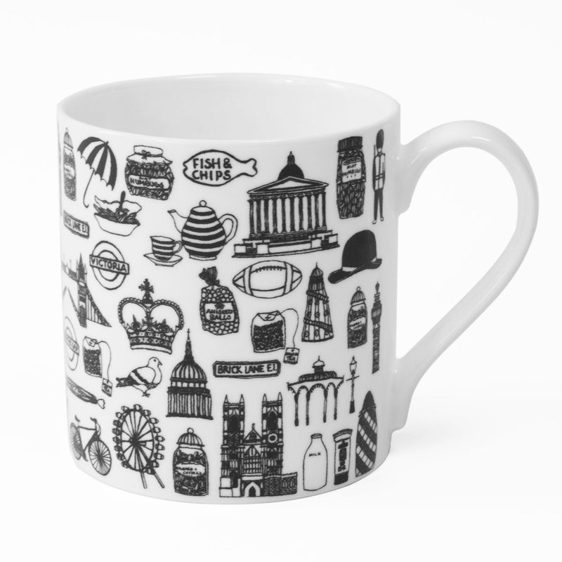 Martha Mitchell British Illustration Mug