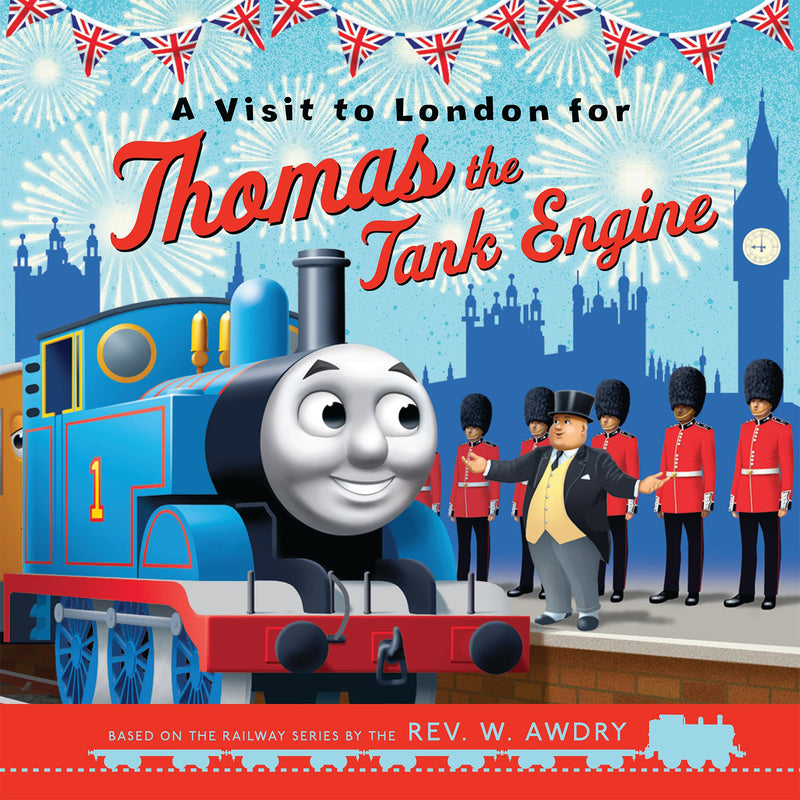 Visit To London Thomas The Tank Engine book cover