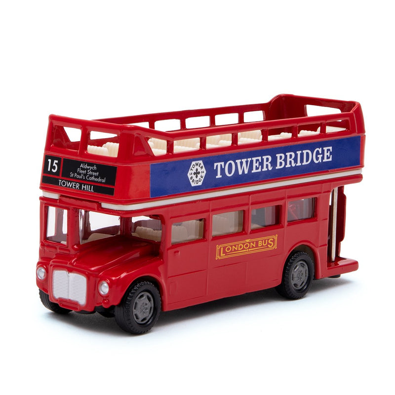 Die Cast Open Top London Bus 1