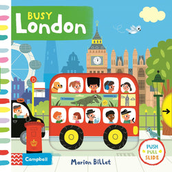 Busy London Marion Billet book cover