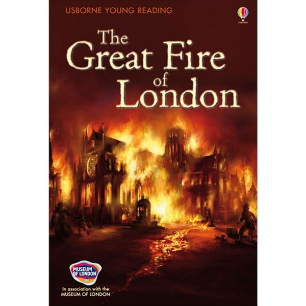 The Great Fire Of London Book Cover