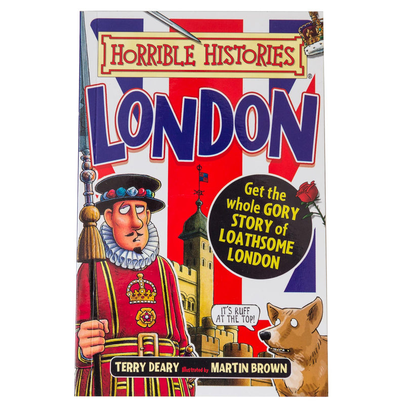 Horrible Histories Gruesome Guides: London Book