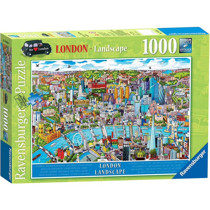 London Landscape 1000 Piece Puzzle box