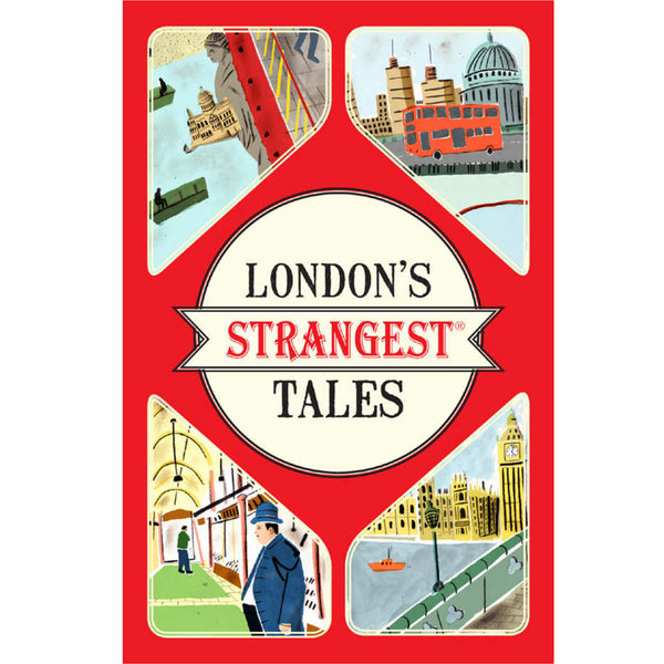 London's Strangest Tales Book cover