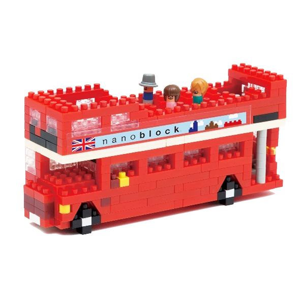 Nanoblock London Double Decker Bus Model assembled