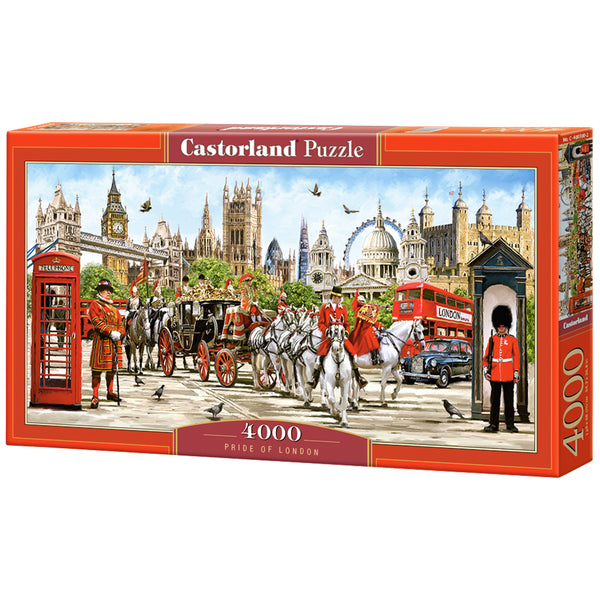 Pride of London 4000 Piece Puzzle box