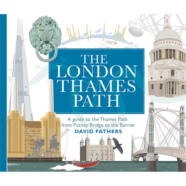 The London Thames Path Book cover