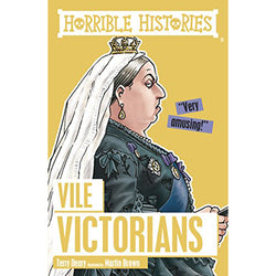 Horrible Histories Vile Victorians Book cover