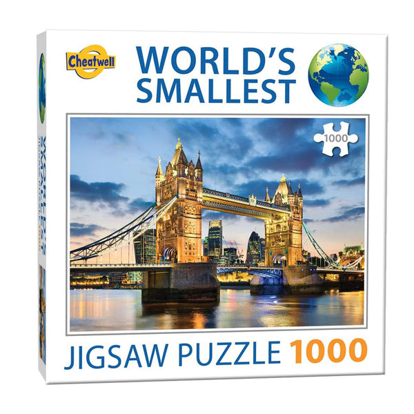 World's Smallest Jigsaw Puzzle - Tower Bridge - 1000 piece