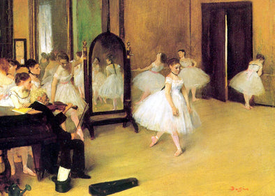 Edgar Degas - The Dancing Class
