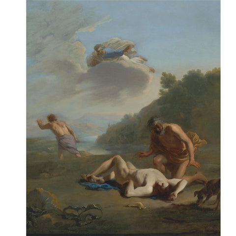 Karel Dujardin - Cain and Abel
