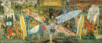 Diego Rivera - Man at the Crossroads