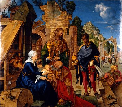 Albrecht Dürer  - Adoration of the Magi - Get Custom Art