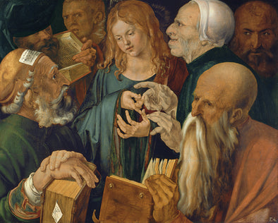 Albrecht Dürer  - Christ among the Doctors - Get Custom Art
