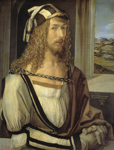 Albrecht Dürer  - Self Portrait at the Age of Twenty Six 1498 - Get Custom Art