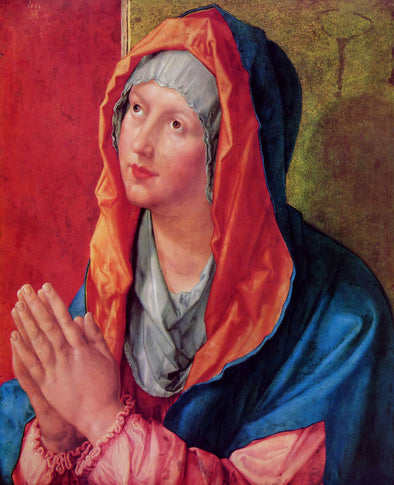 Albrecht Dürer  - The Virgin Mary in Prayer - Get Custom Art