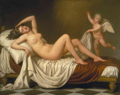 Adolf Ulrik Wertmüller - Danaë and the Shower of Gold