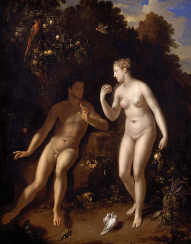 Adriaen van der Werff - Adam and Eve - Get Custom Art