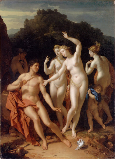 Adriaen van der Werff - The Judgement of Paris - Get Custom Art